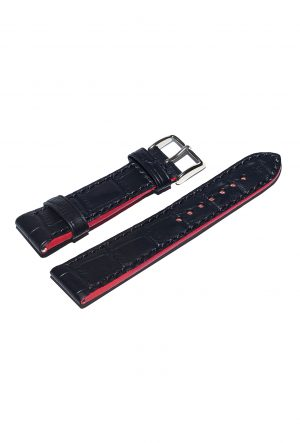 Black Calfskin watch strap