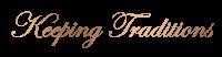 Schriftzug Keeping Traditions_Edwardian Script ITC_gold-min